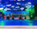 Зимний аквапарк, бассейн приводнения