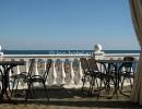 Пляж, кафе на пляже