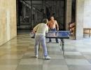Мал. теннис в холле