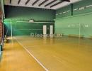 Крытая волейбольная площадка