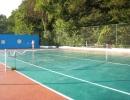 Спорт. площадка на пляже