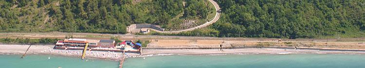 дорога на пляж